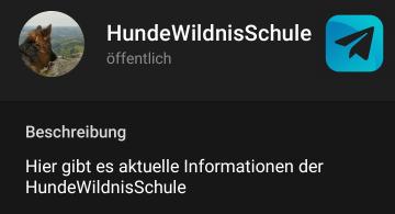Unser Telegram-Info-Kanal